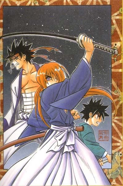 Why is Sanosuke eating anchovies?